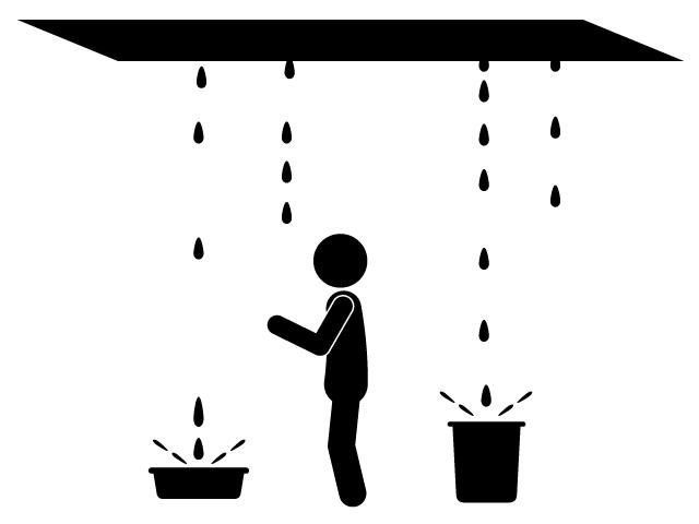 建物にとって命取りは雨漏りです!