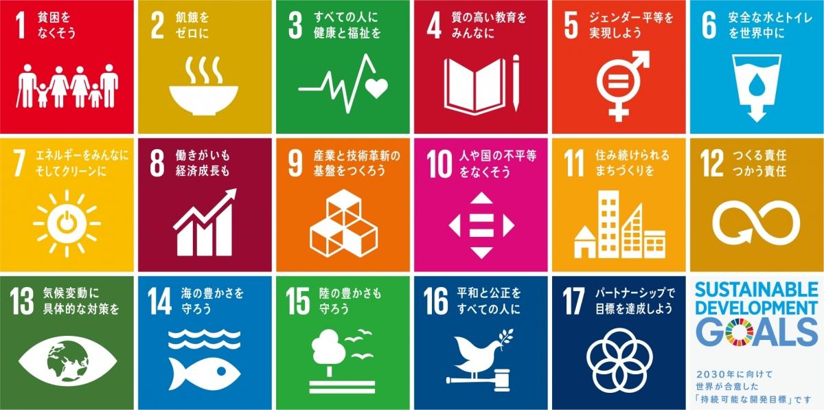 最近話題のSDGsをご存知ですか?SDGsの17の目標とは・・・
