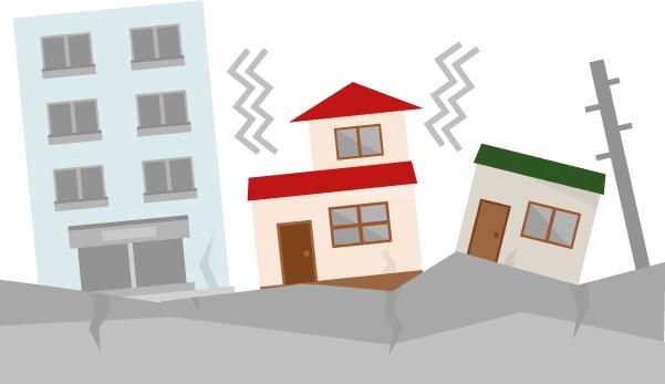買った建物が地震で壊れた場合はどうなるのでしょうか?
