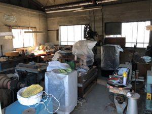 さいたま市内の空倉庫の残置物撤去